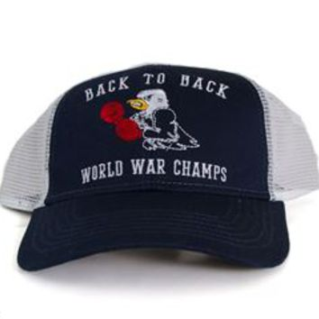 Rowdy Gentleman World War Champs Eagle Mesh Snapback Hat