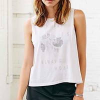 Young Survival Coalition X UO Hope Muscle Tee- Ivory