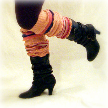 Womens Leg Warmers, Boot Toppers, Handmade Leg Warmers, Upcycled Sweaters