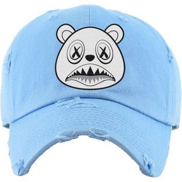 Ghost Baws Carolina UNC Dad Hat