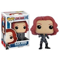 Captain America: Civil War Black Widow Pop! Vinyl Figure