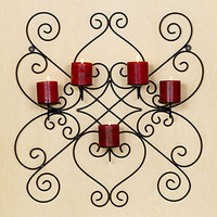Pillar Candle Wall Sconce | Candles and Candleholders| Home Decor | World Market