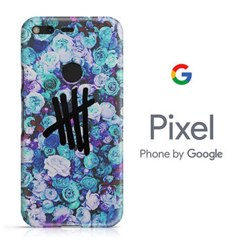 5SOS Logo Natural Flower Google Pixel Phone 3D Case
