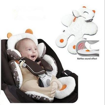 Baby Head & Body Support Car Seat Cover