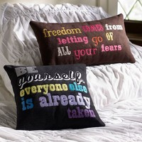 Wise Words Pillow