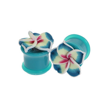 Tropical Flower Plug 2 Pack | Hot Topic