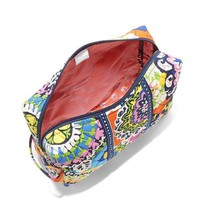 ONETOW Vera Bradley Luggage Women's Large Cosmetic