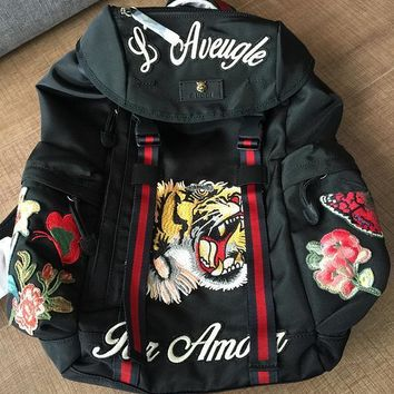 cc auguau Gucci Backpack Tiger