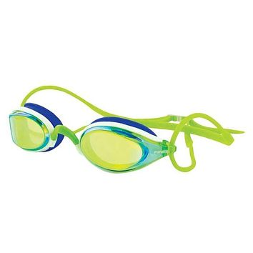 Finis Circuit Classic Fit Swim Goggles Green Mirror
