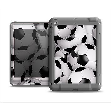 The Soccer Ball Overlay Apple iPad Mini LifeProof Nuud Case Skin Set