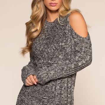 Chesapeake Cold Shoulder Sweater