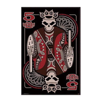 Five Finger Death Punch Domestic Poster