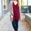 Basic At Its Best Cardi - Taupe