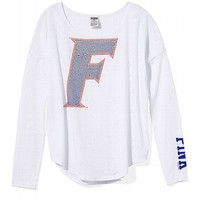 University of Florida Bling Long-sleeve Drapey Tee
