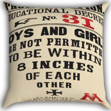 harry potter quotes proclamation Zippered Pillows  Covers 16x16, 18x18, 20x20 Inches
