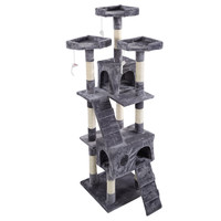 "Exhilirating 66"" Cat Tree Condo"