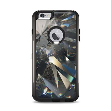 The Abstract Shattered Crystal Pattern Apple iPhone 6 Plus Otterbox Commuter Case Skin Set