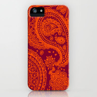 Hokie Paisley iPhone Case by Jordan Virden | Society6