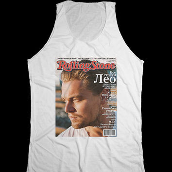 Leonardo DiCaprio Tank Top Unisex  Shirt  For  women - men Size M, L, XL