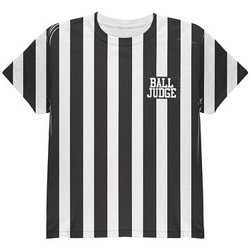 Halloween Deflategate Ball Referee Costume All Over Youth T Shirt