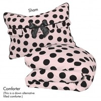 Wake Up Frankie - Frenchie Comforter Set - Frenchie Comforter Set : Teen Bedding, Pink Bedding, Dorm Bedding, Teen Comforters