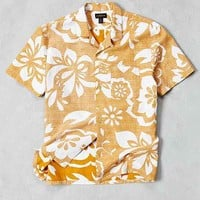 CPO Textured Tropical Floral Camp Shirt
