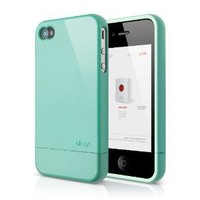 elago S4 Glide Case for AT&T, Sprint and Verizon iPhone 4/4S (Coral Blue) - eco-friendly packaging