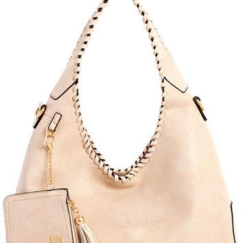 Trendy Modern Hobo Bag with Coin Purse