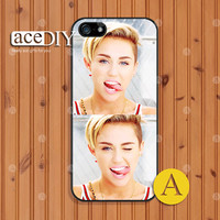 Miley Cyrus, Phone cases, iPhone 5 case, iPhone 5s case, iPhone 4 case, iPhone 4s case, Skins, Case for iPhone, Cover Skin --A50762