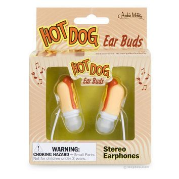 Hot Dog Ear Buds - Whimsical & Unique Gift Ideas for the Coolest Gift Givers