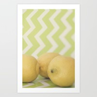 When Life Gives You Lemons Art Print by Melissa Lund