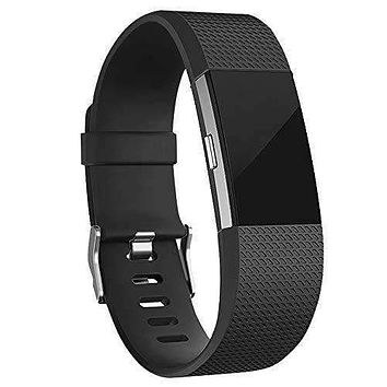 iGK Replacement Bands Compatible for #Fitbit Charge 2, Adjustable