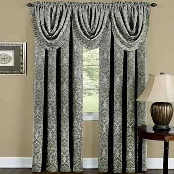 Ben&Jonah Collection Sutton Window Curtain Panel 52x63 - Sage