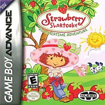 Strawberry Shortcake Sumertime Adventure Nintendo Game Boy Advance