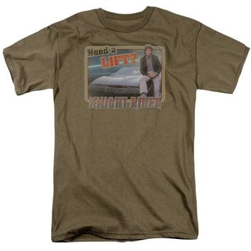 Knight Rider - Lift Short Sleeve Adult 18/1