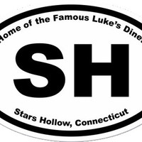 Gilmore Girls Stars Hollow Sticker