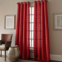 Manhattan Grommet Window Curtain Panel