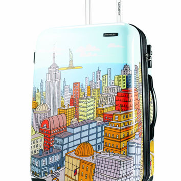 Samsonite Luggage NYC Cityscapes Spinner 28 Blue Print One Size '