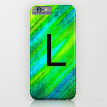 LETTER L iPhone & iPod Case by Jessica Ivy