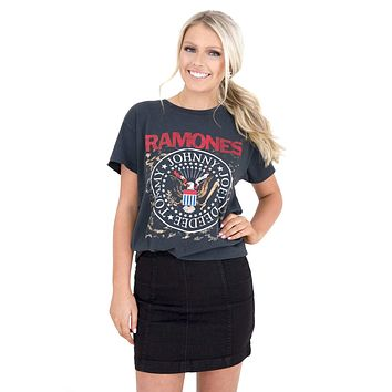 Women's Ramones Tour Top