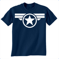 Captain America Super Soldier Mens T-Shirt