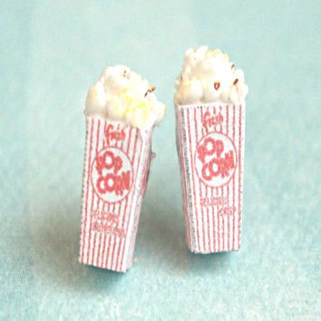 Popcorn Stud Earrings