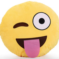 EMOJI TONGUE PILLOW