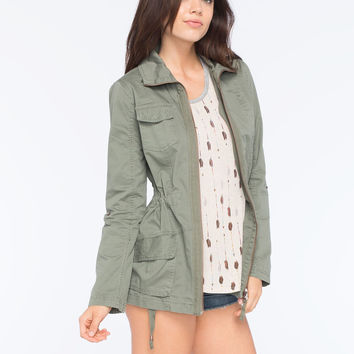 ASHLEY Rolled Sleeve Womens Anorak Jacket | Jackets
