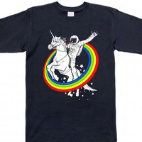 Navy T-Shirt | Funny Unicorn Shirts