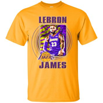 LEBRON JAMES LOS ANGELES LAKERS NBA KING T-Shirt