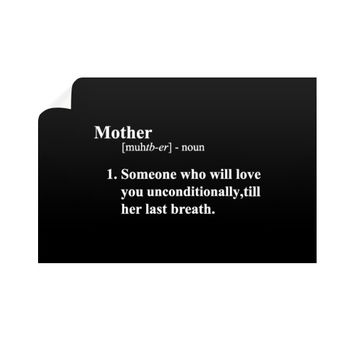 Mother Definition Horizontal Wall Decals