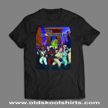 1990'S CARTOON THE GHOSTBUSTERS T-SHIRTS