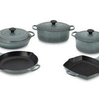 Le Creuset Signature Cast-Iron 8-Piece Cookware Set