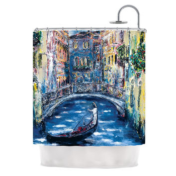 "Josh Serafin ""Venice"" Travel Italy Shower Curtain"